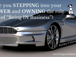 Power and owning the role