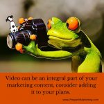 5 Reasons to Use Video in your Marketing Content