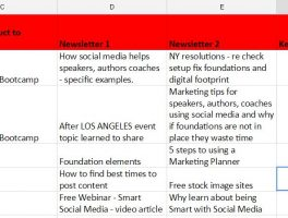 Free Marketing Calendar Template. Get started in 5 Easy Steps.