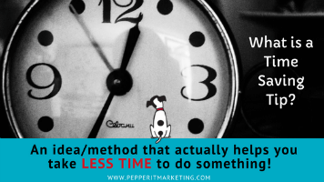 tips to save time in your content marketing
