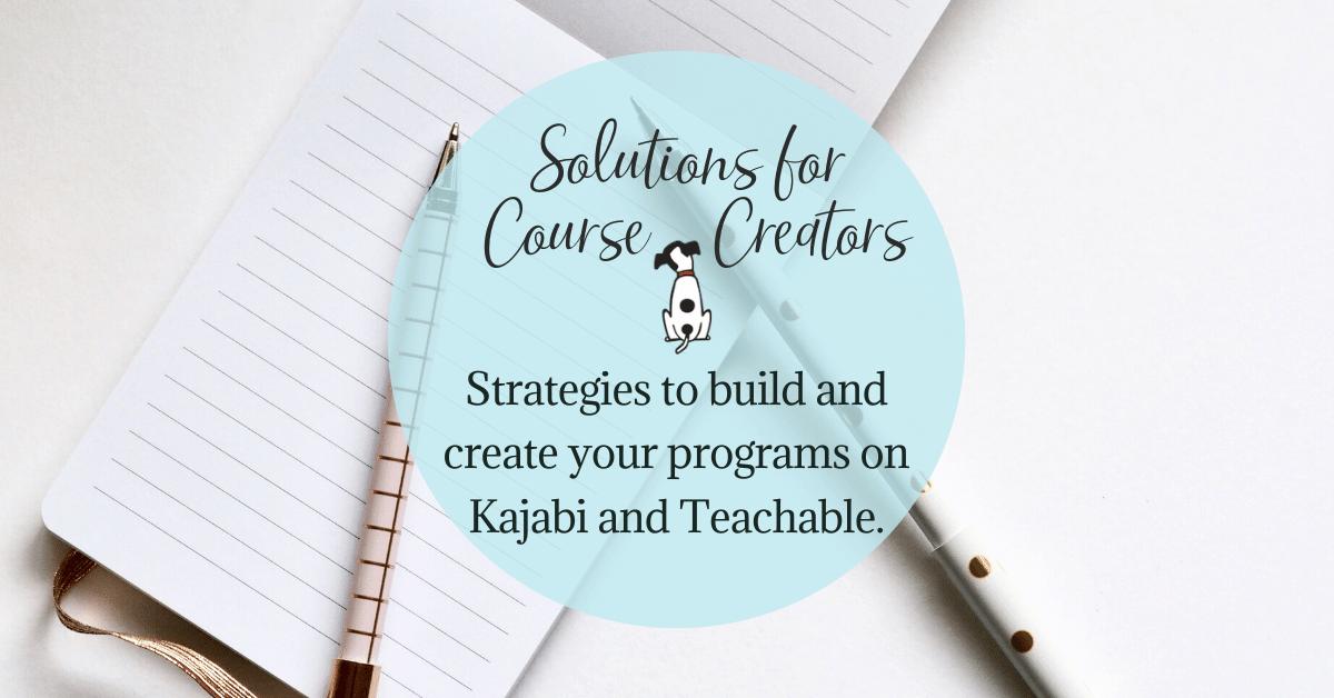 solutions course creators
