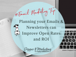 Planning emails & newsletters can improve ROI