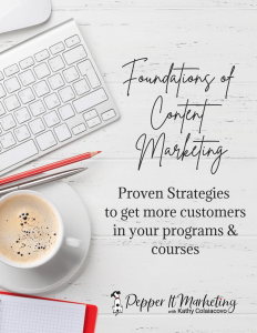 how to create marketing content