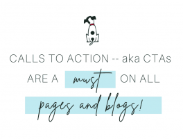 Pepper It Marketing Calls to Action are a must on pages and blogs