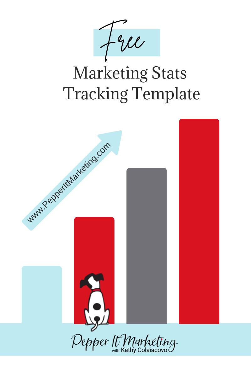 Pepper It Marketing free stats template