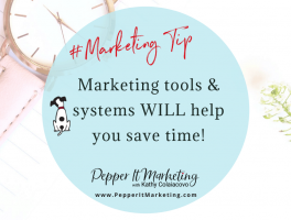 Pepper It Marketing tools and systems will help save time with online marketing