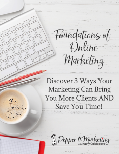 save time with online marketing get clients