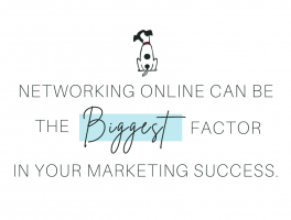 Networking online can be the biggest factor in your marketing success