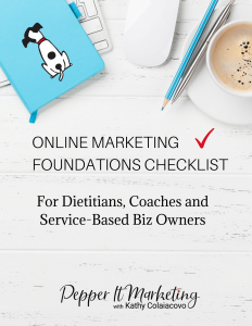 Online Marketing Foundations Checklist