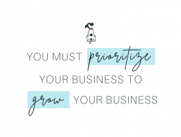 You must prioritize your sales and marketing to grow your dietitian business