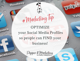 optimize your social media profiles so people can find your business and book a consult