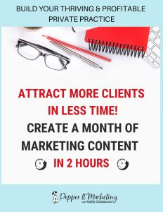 get more clients dietitian business marketing